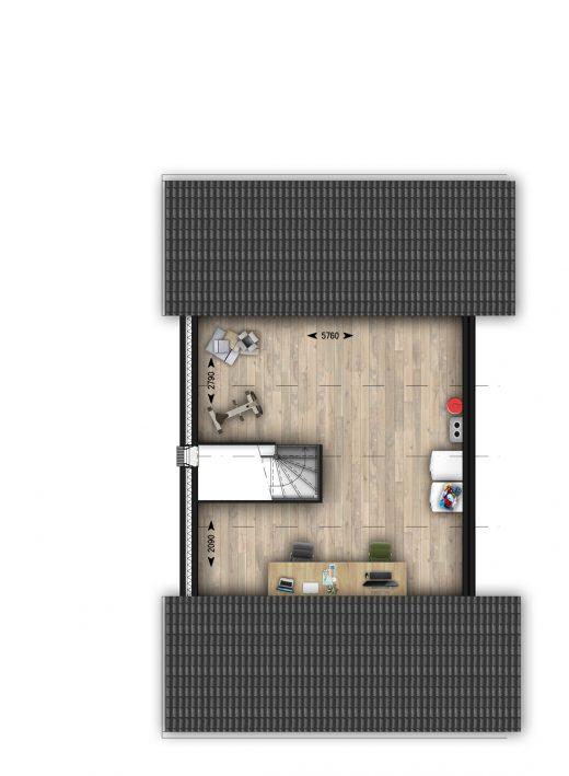2e verdieping (basis)